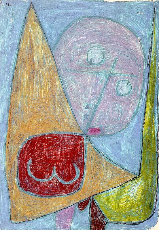 Пауль Клее. Женственный ангел