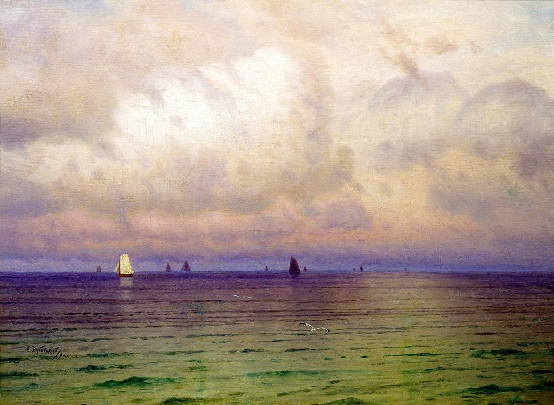 Nikolay Dubovskoy. Sailboats