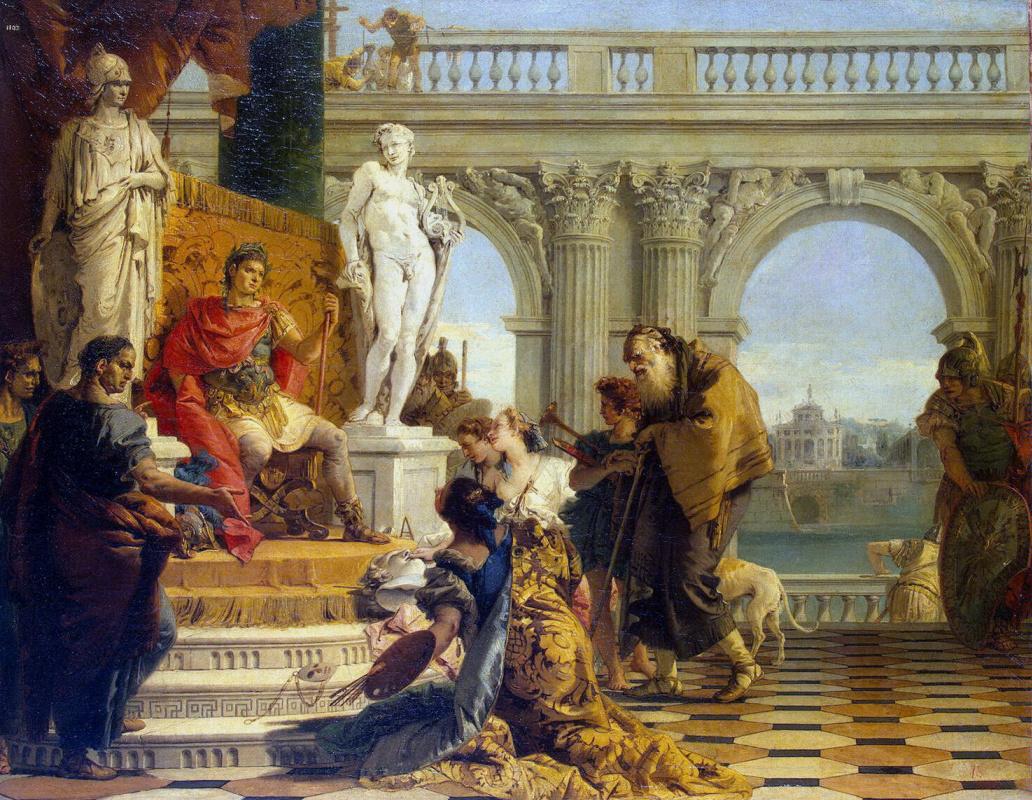 Джованни Баттиста Тьеполо. Император Август