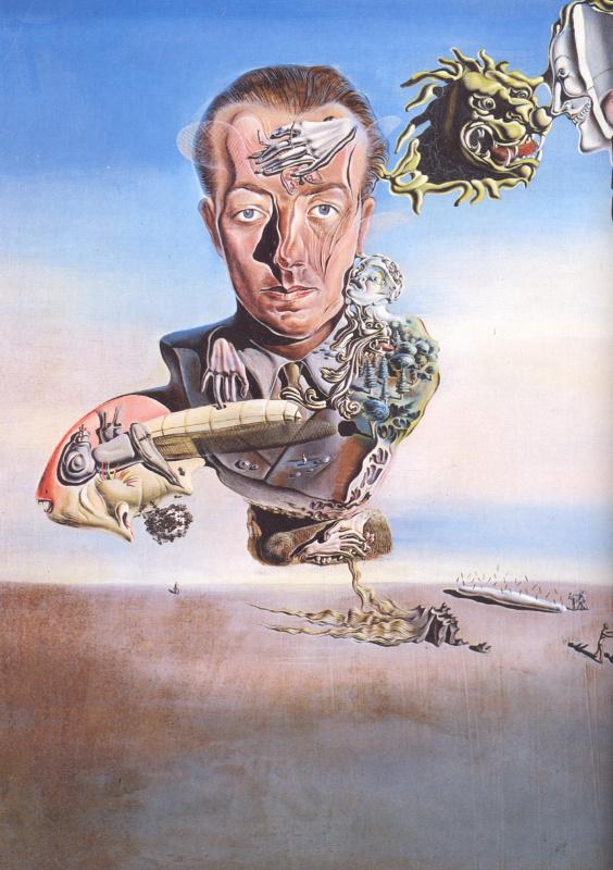 Salvador Dali. The Portrait Of Paul Eluard