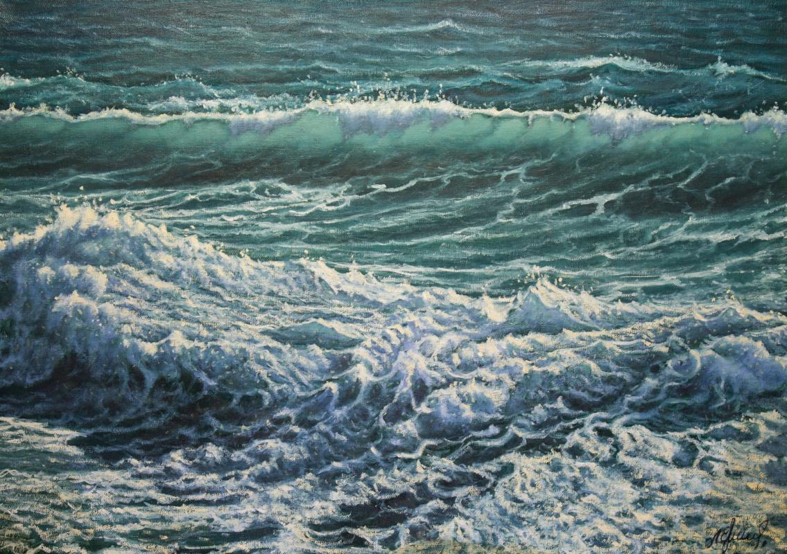 Valery Levchenko. No. 483 Seascape.