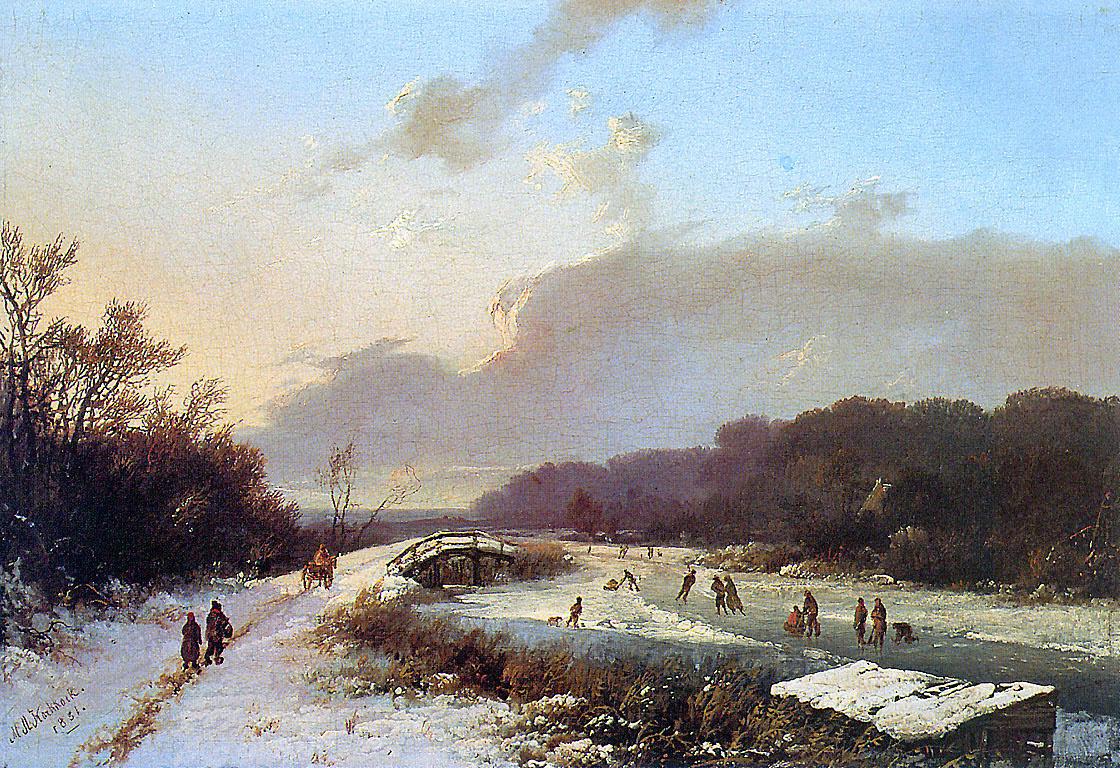 Маринус Куккук. Зимняя пустота Рейна