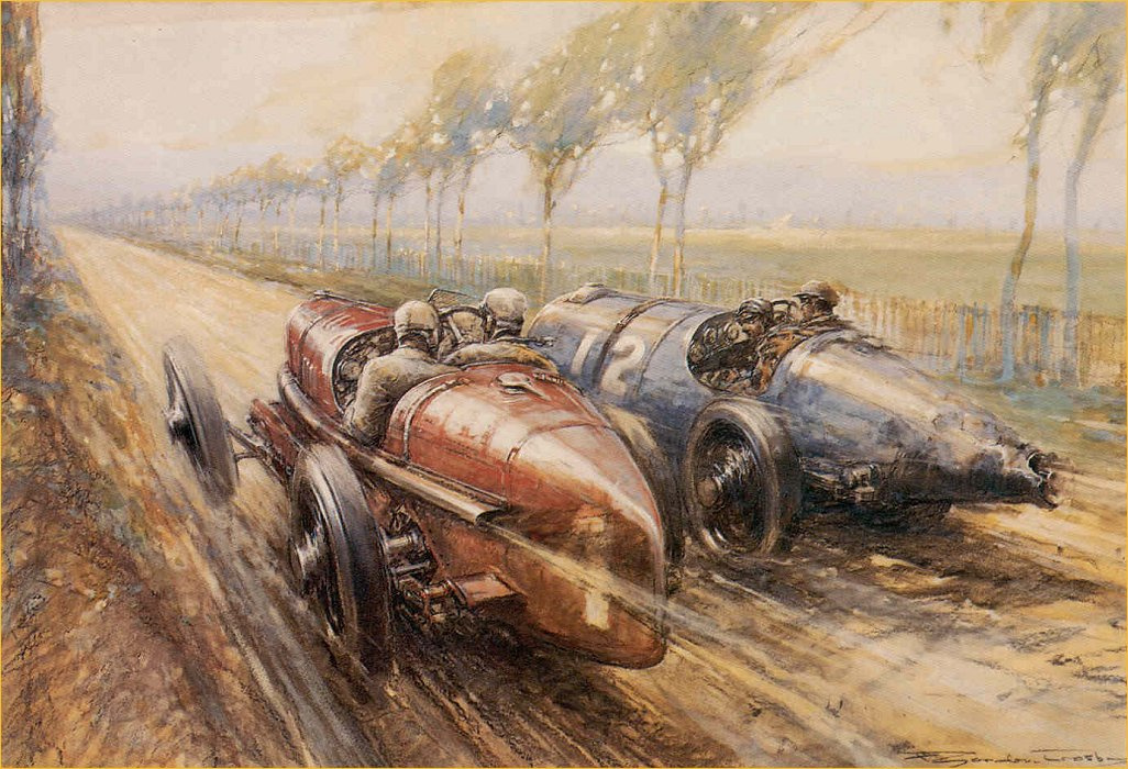 Frederick Gordon Crosby. On The Fiat