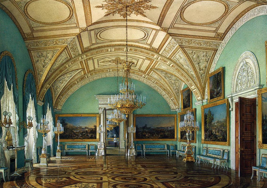 Эдуард Петрович Гау. Третий зал Военной галереи