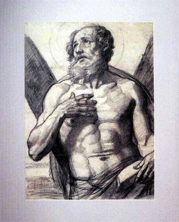 Алексей Егорович Егоров. Апостол Андрей Первозванный. 1835