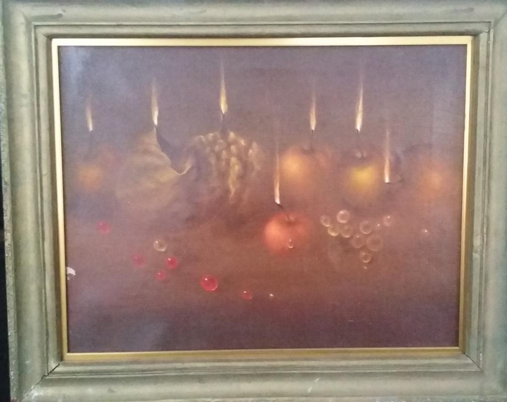 Yuri Efimovich Brusovani. Last supper
