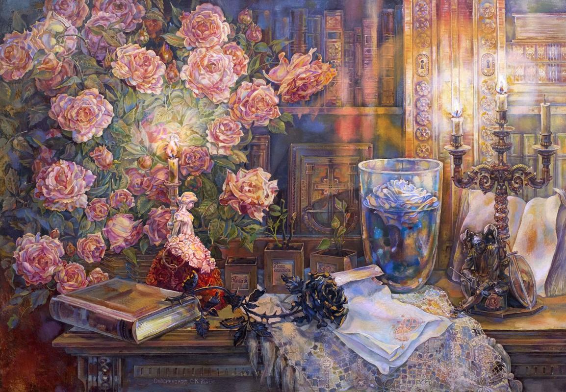 Снежана Казимировна Витецкая Viteckaja. Roses