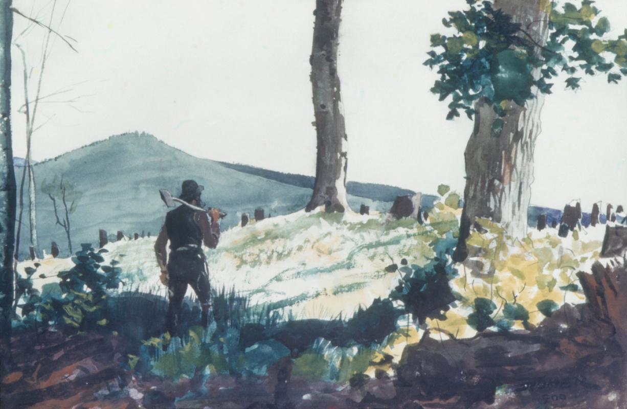 Winslow Homer. Pioneer