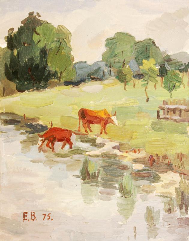 Evgeny Vsevolodovich Volobuev. Cows