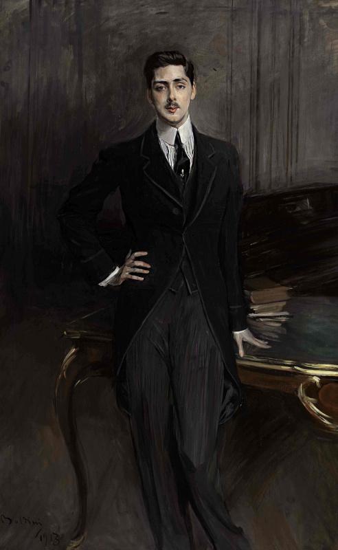 Giovanni Boldini. Portrait of Count S. P. Zubov