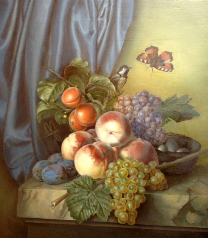 Anna Mukhamedchina. Still life with a butterfly