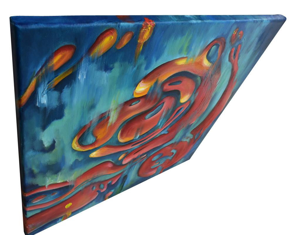 OCEAN VOICE - original oil painting