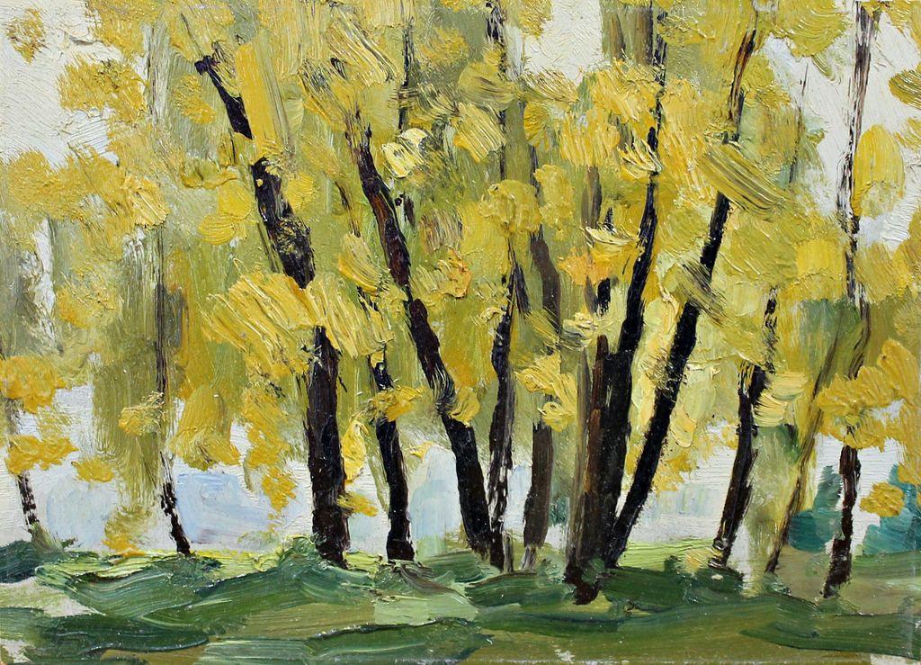 Anatoly Alexandrovich Elansky. Autumn