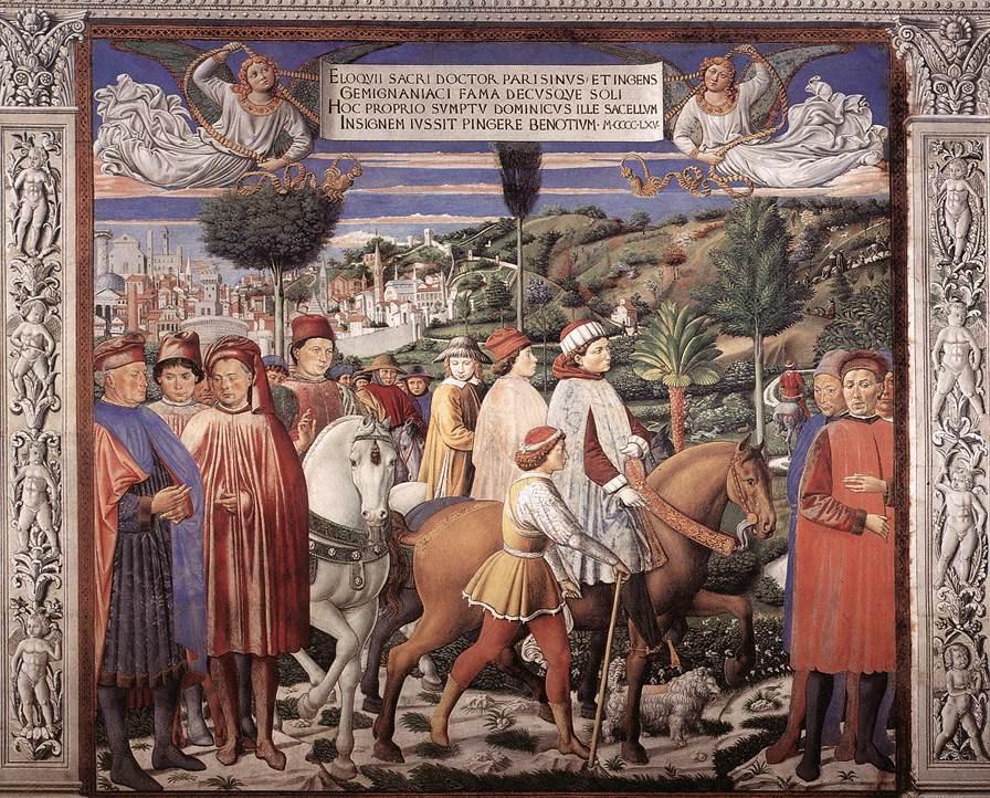 Беноццо Гоццоли. Сюжет 14
