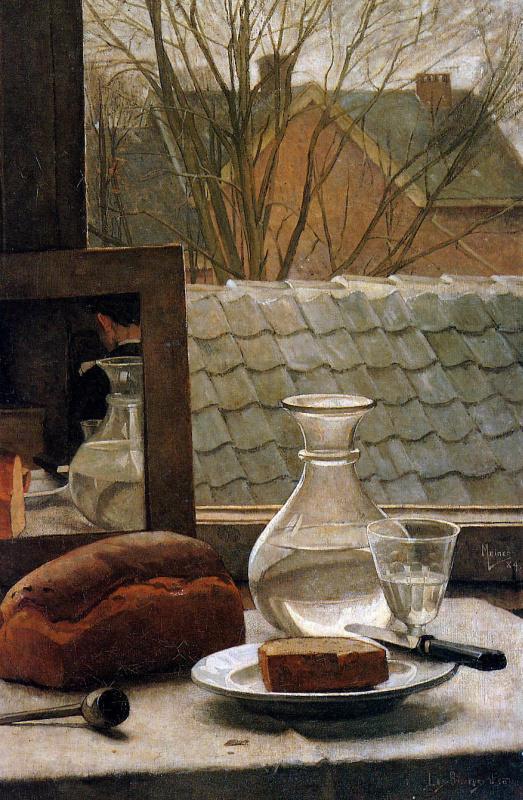 Пиет Меиндерс. Натюрморт с хлебом