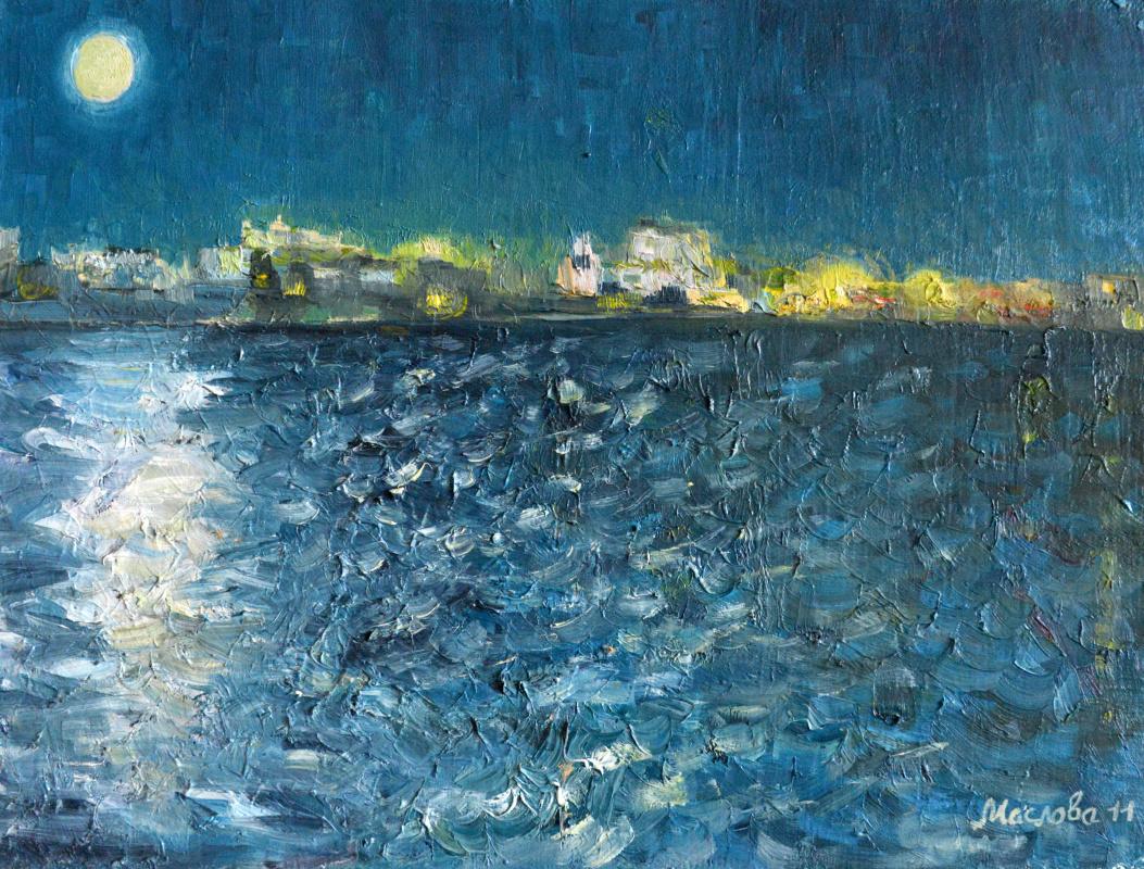 Марианна Маслова. Черномосркое. Море. Текила