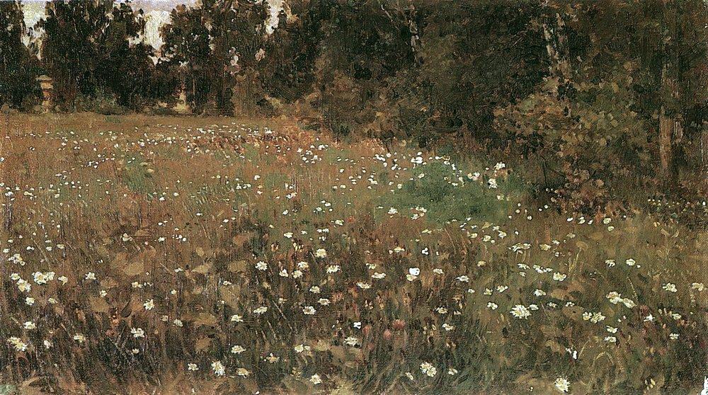 Apollinarius Mikhailovich Vasnetsov. Flowering meadow