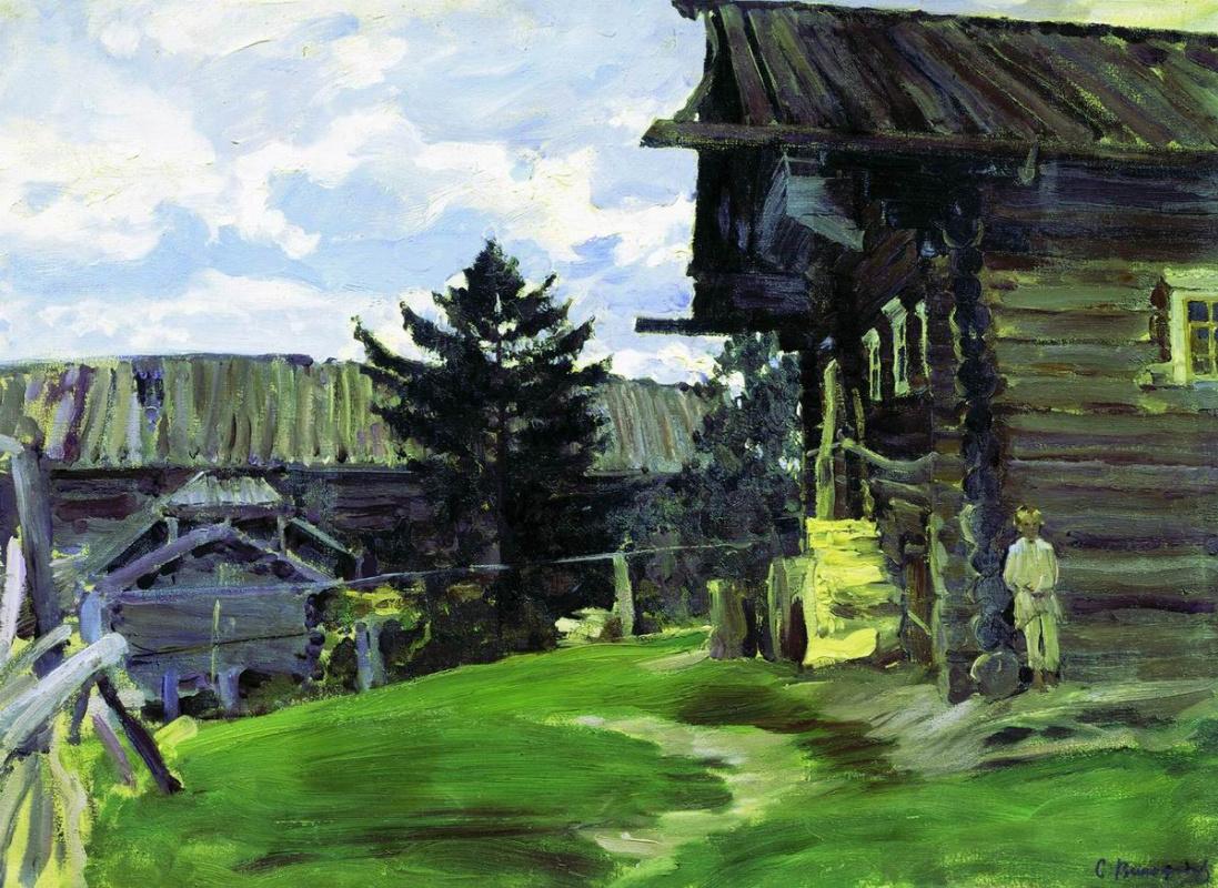 Sergey Arsenievich Vinogradov. North village