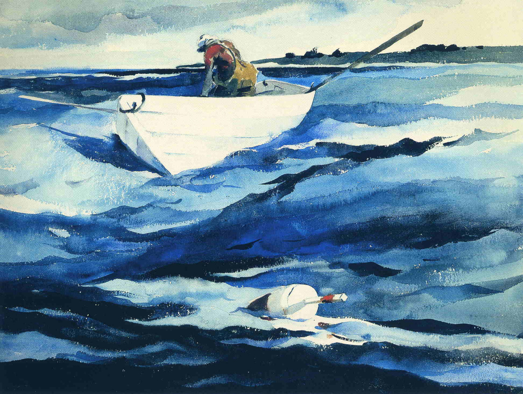 Эндрю Уайет. Белая лодка