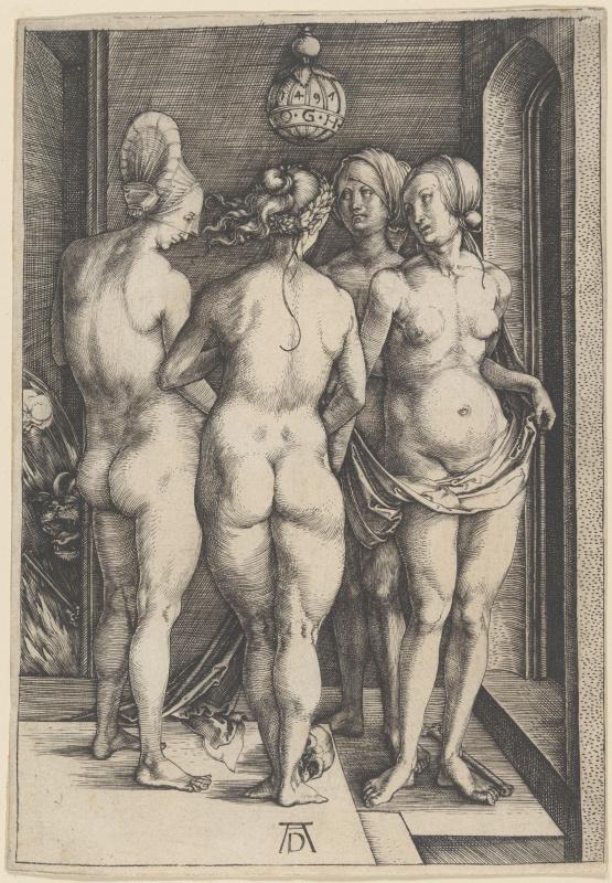 Albrecht Dürer. Four witches