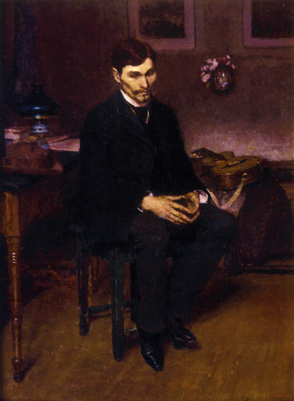 Кириак Константинович Костанди. Музыкант . 1891