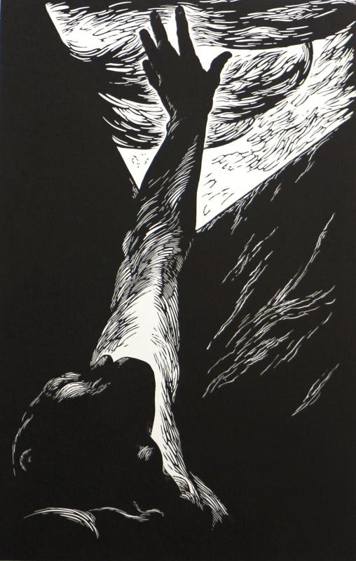 """Polina Raeva. """"Forsaken"""", page 3 of the """"Revolution"""" series"""