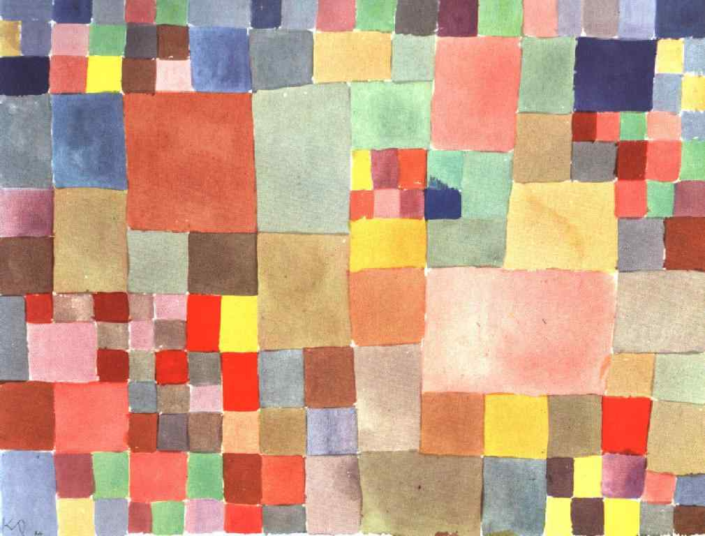 Paul Klee. Flora on the sand