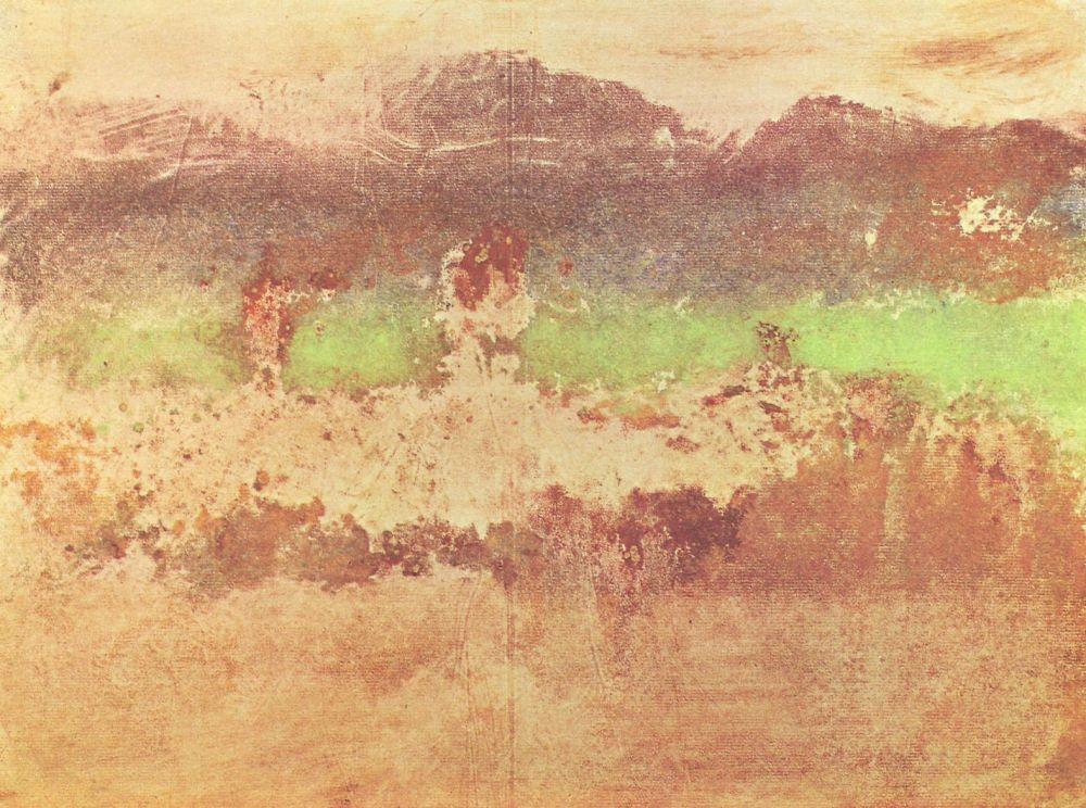 Эдгар Дега. Осенний пейзаж