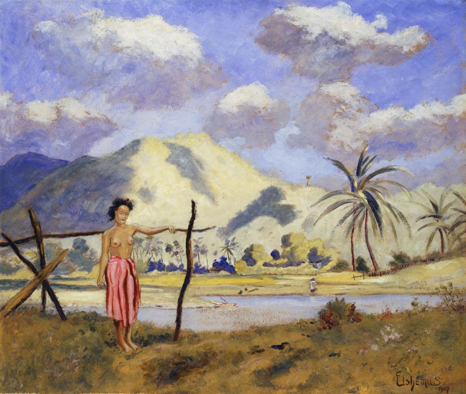 Мишель Луи   Элшемиус. Самоа