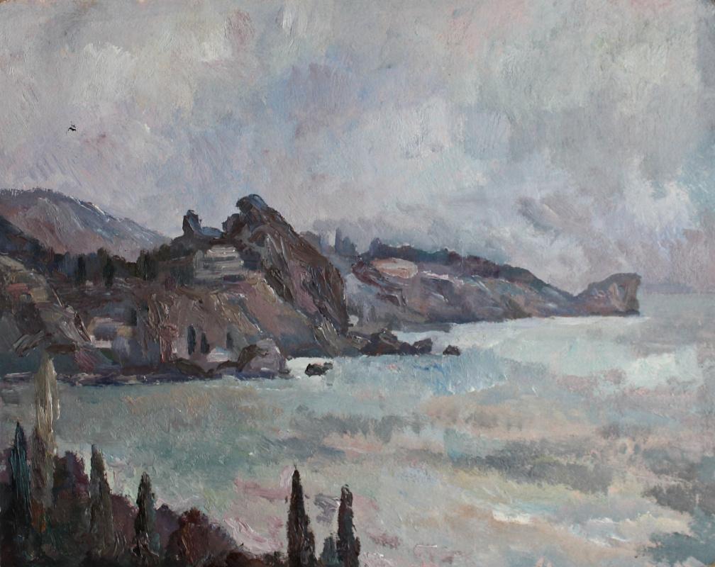 Victor Ashotovich Abrahamyan. Gurzuf. Fog