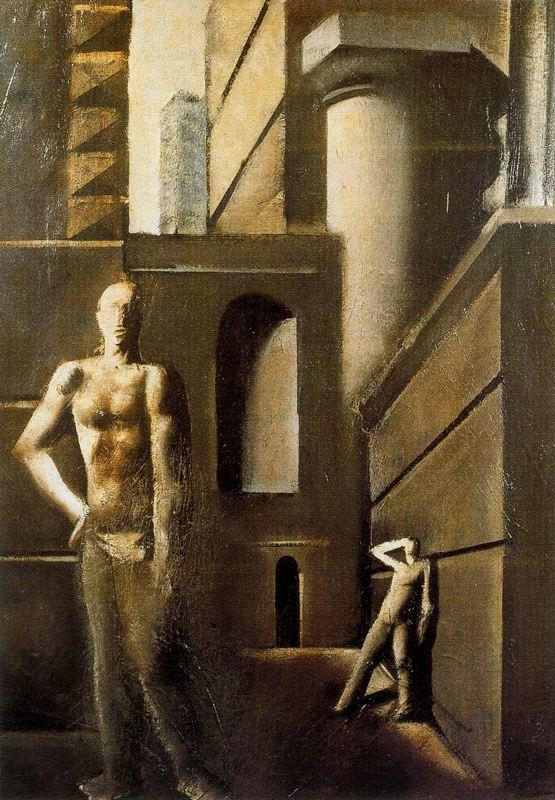 Марио Сирони. Стены