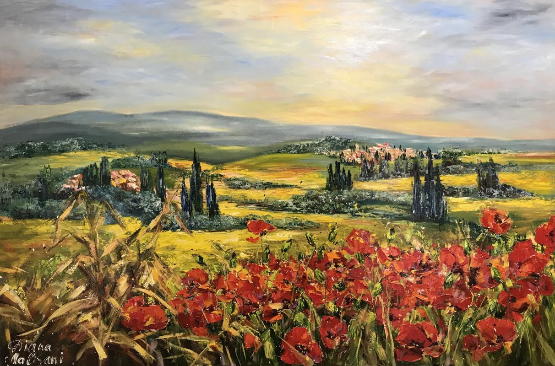Диана Владимировна Маливани. Toscana. Italy