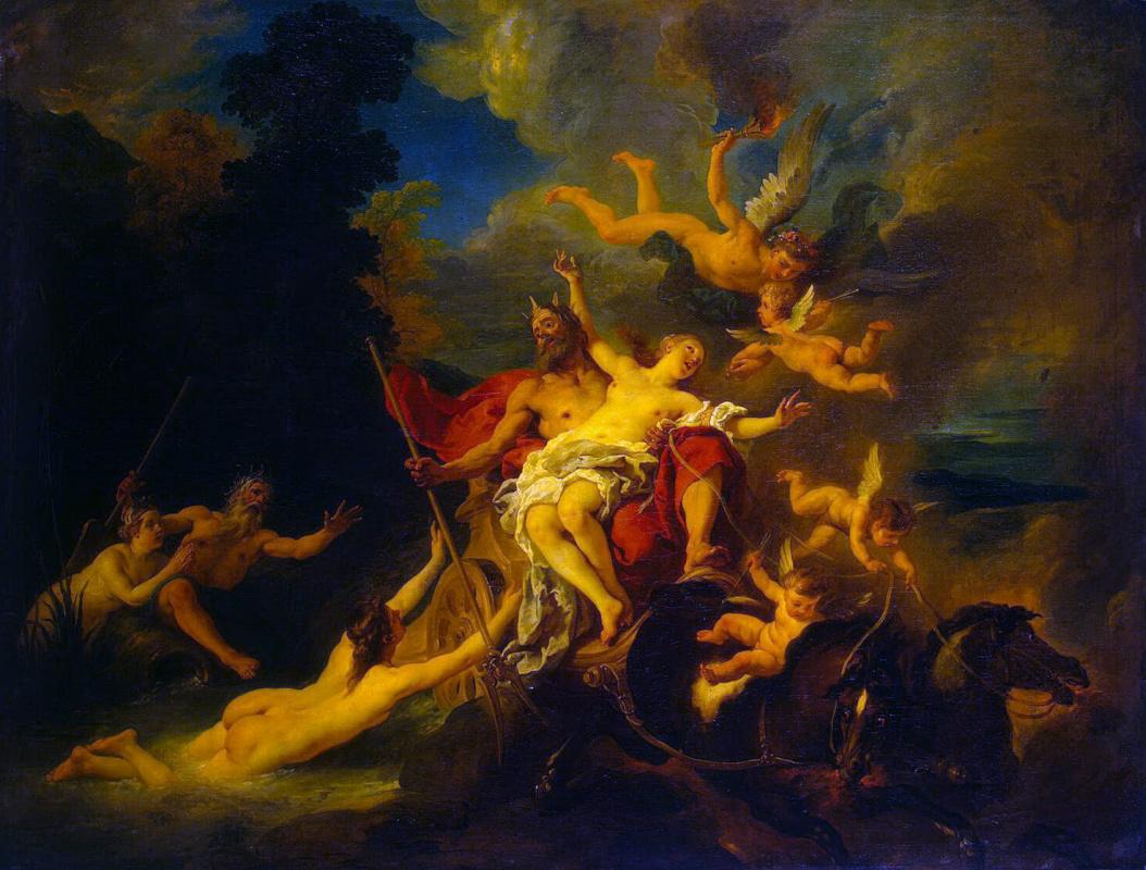 Жан Франсуа Де Труа. Похищение Прозерпины