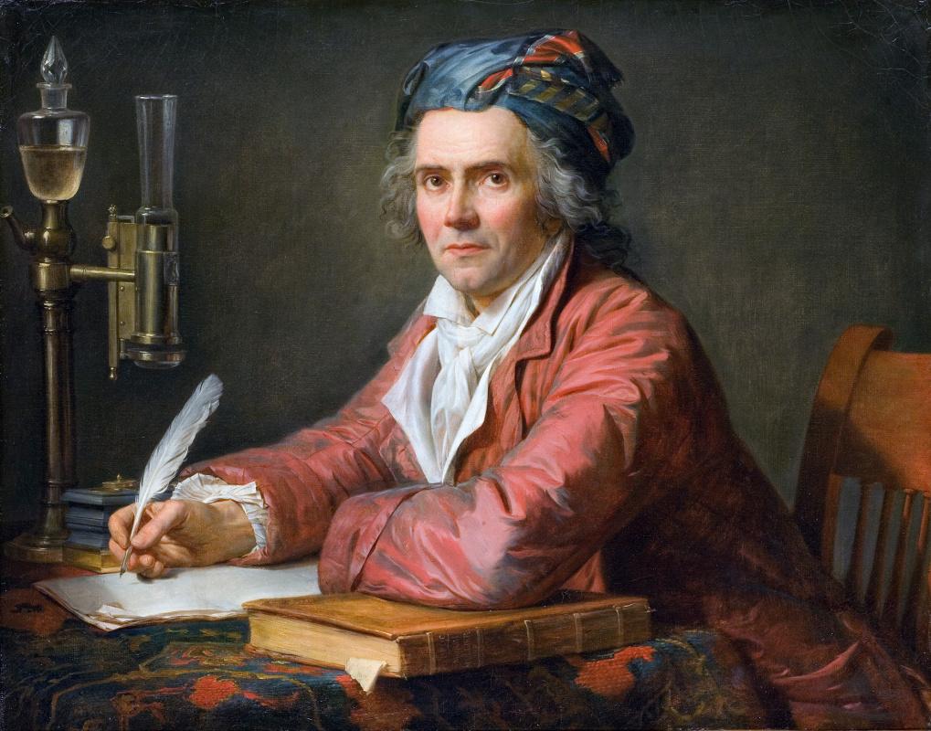 Jacques-Louis David. Portrait Of Alphonse Leroy