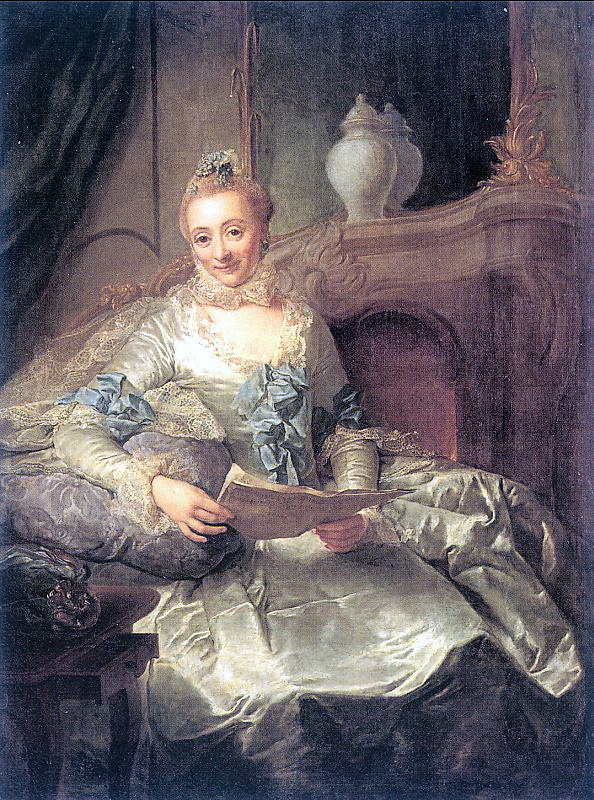 Georg David Mathieu. The Wife Of Joachim Ulrich Giese