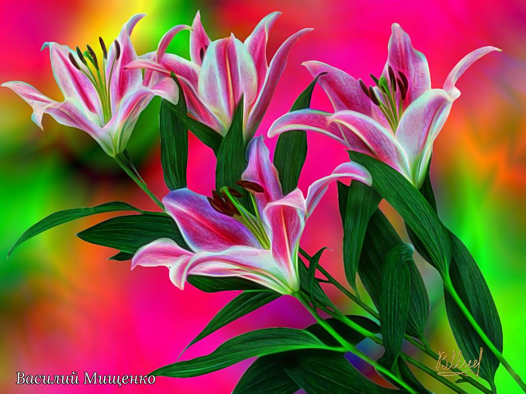 Vasiliy Mishchenko. Flowers 038