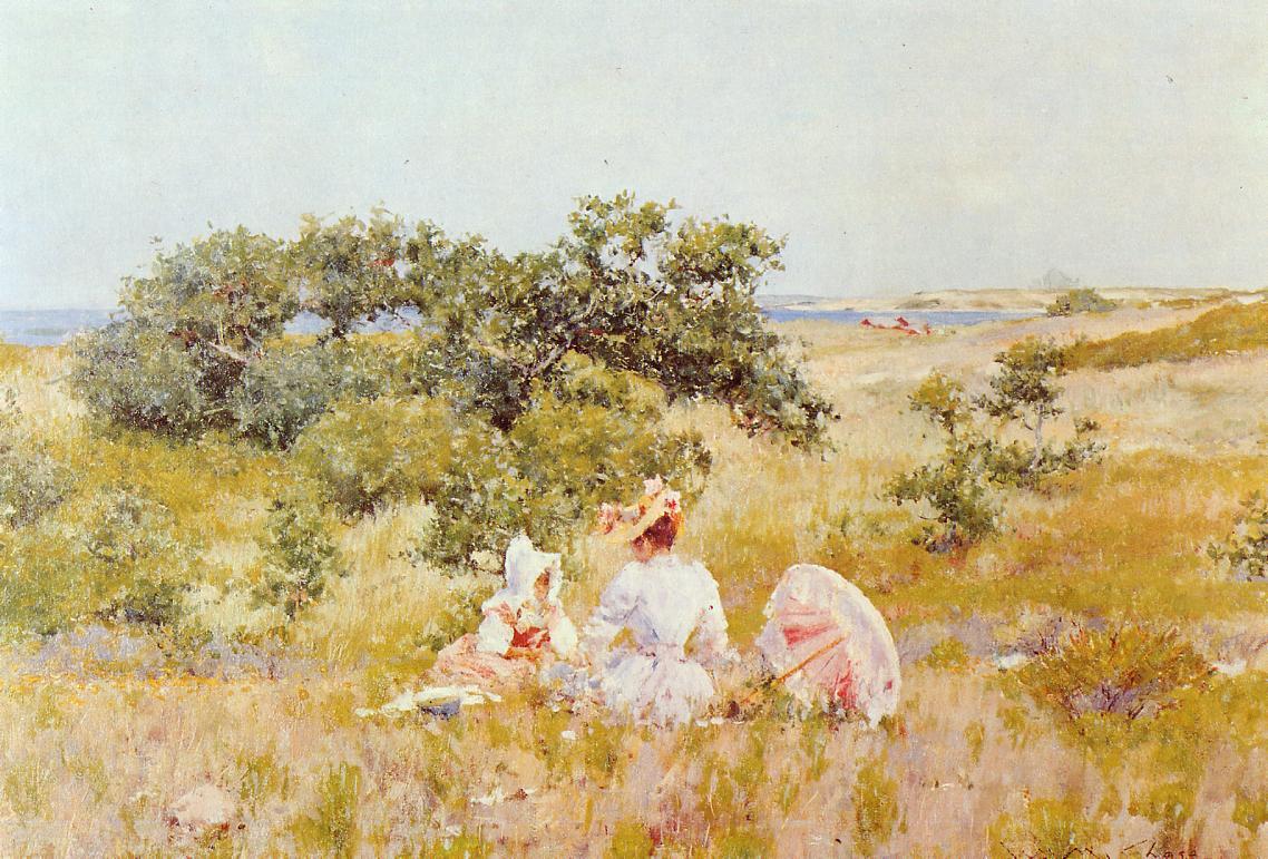 William Merritt Chase. Summer day