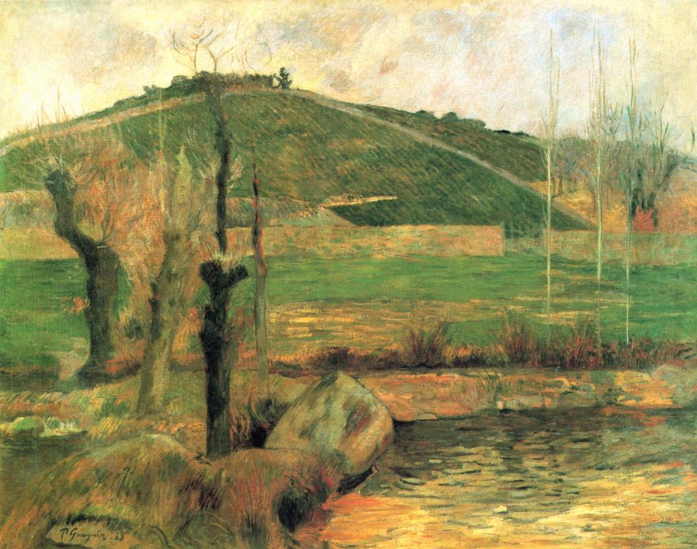 Поль Гоген. Вид на Сен-Маргерит в окрестностях Понт-Авена
