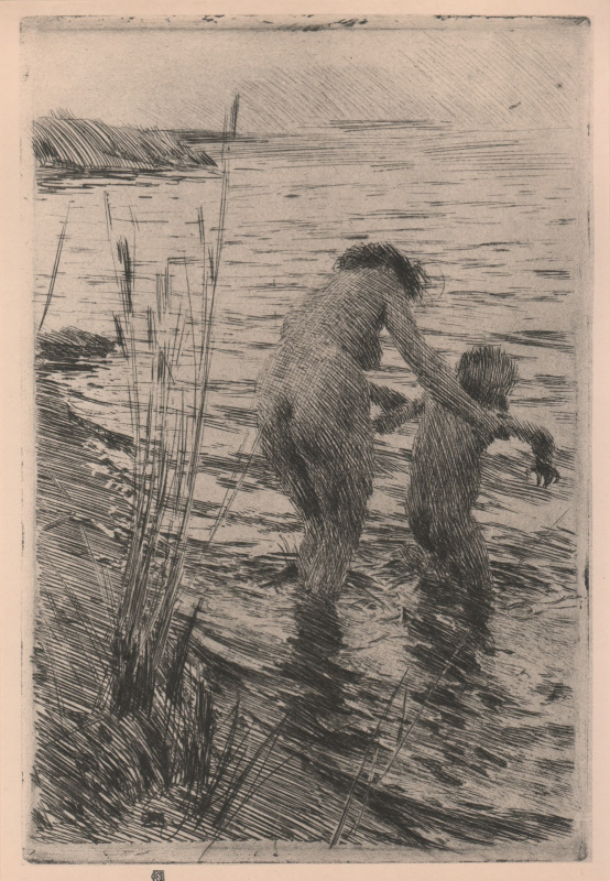 Anders Zorn. Bathing