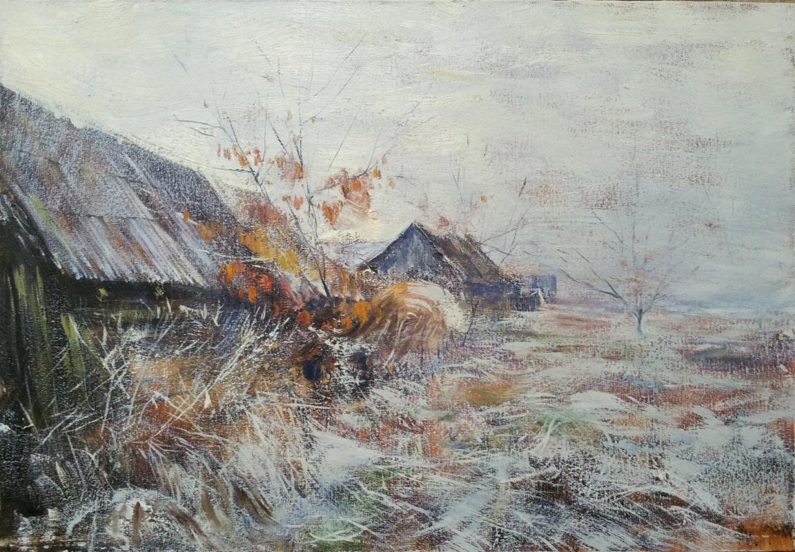 Michael Mole. Fog in november