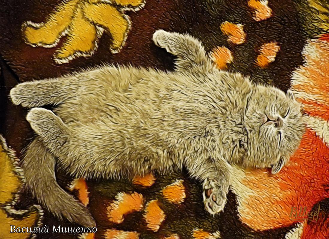 Vasiliy Mishchenko. Deep sleep
