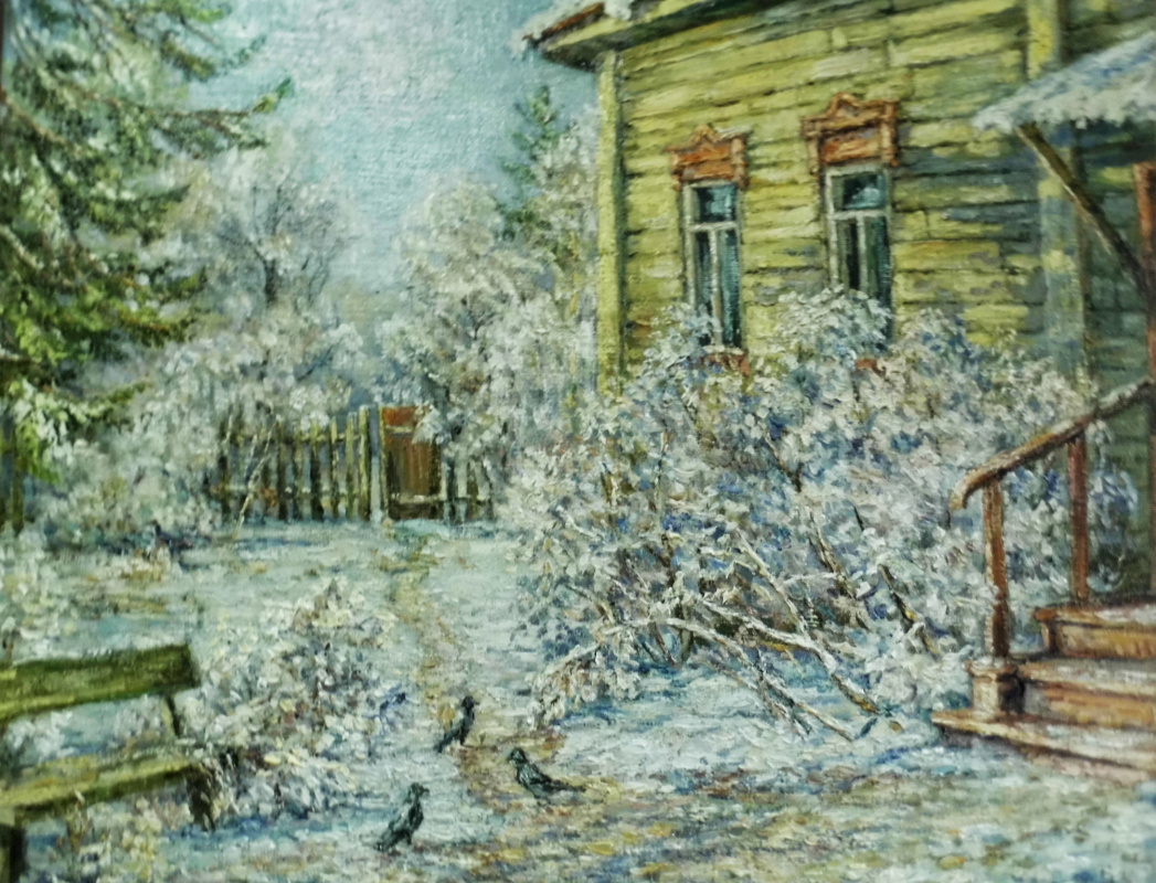 Victor Vladimirovich Kuryanov. Cold sun of winter