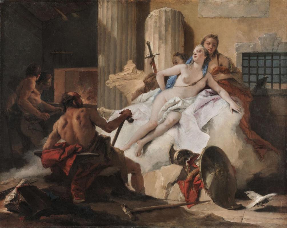 Джованни Баттиста Тьеполо. Венера и Вулкан