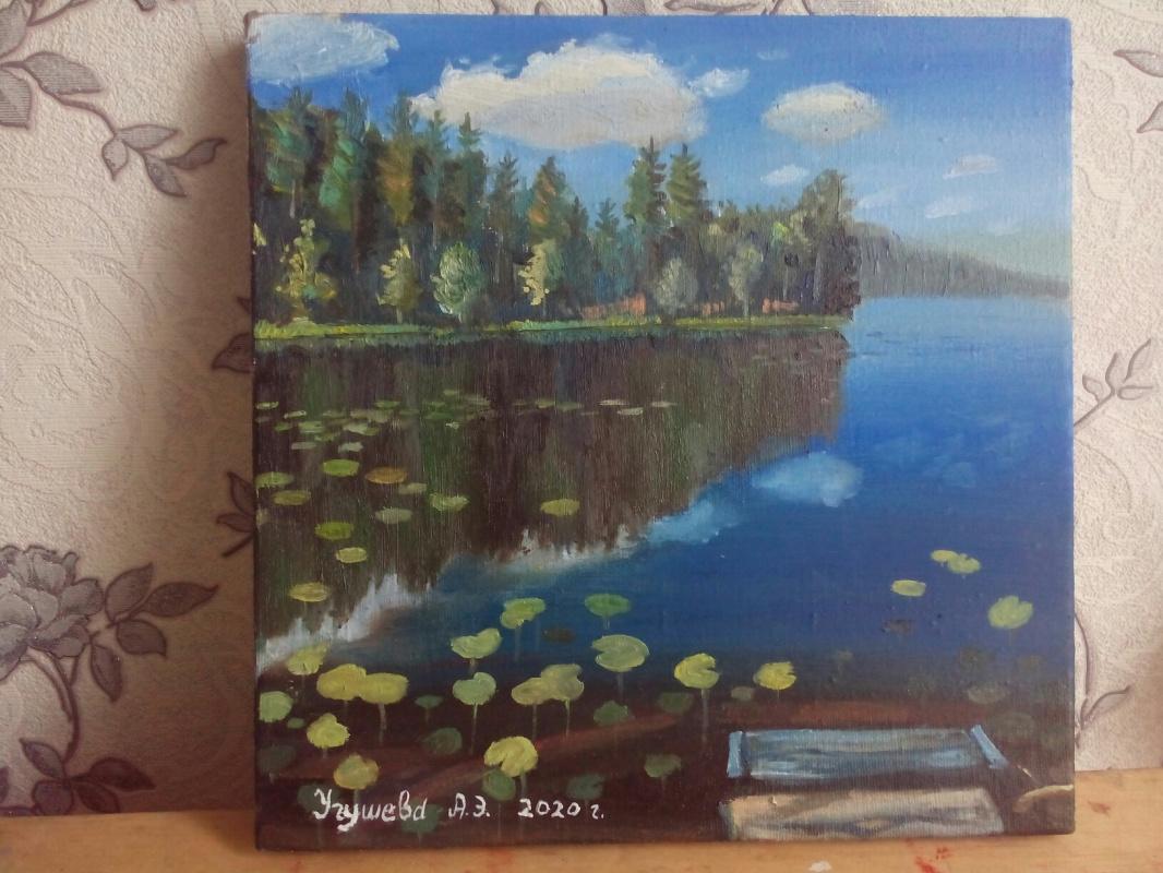Anna Ugusheva. Lake