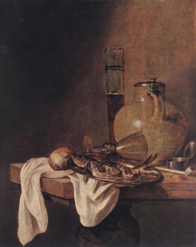 Абрахам Ван Беуерен. Завтрак