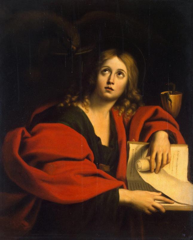 Доменикино . Евангелист Иоанн