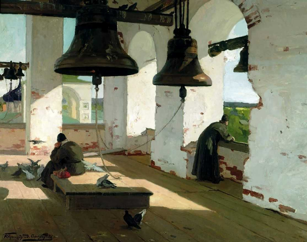 Ivan Goryushkin-Sorokopudov. From the cult of the past.(From century to century 1910s)