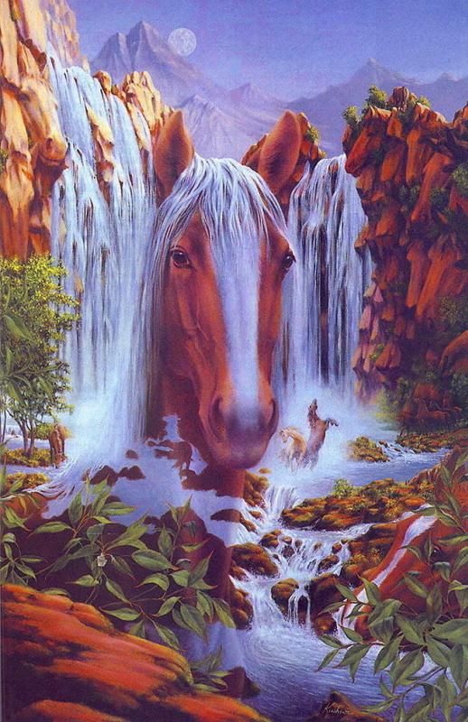 Стив Кушнер. Объемная лошадь
