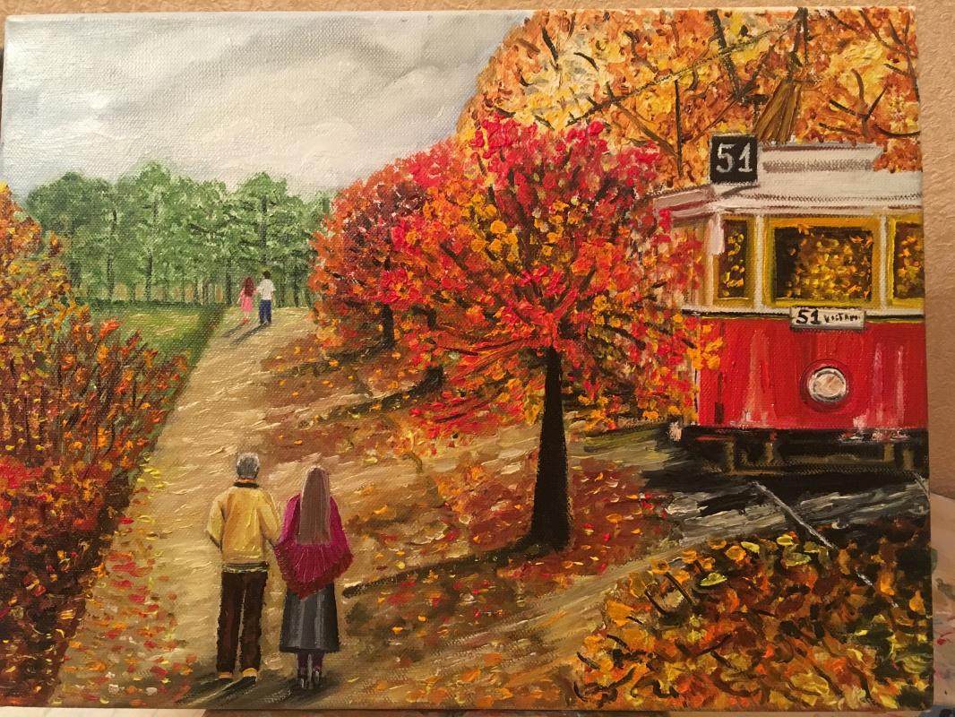 Olga Skoda. From summer to autumn