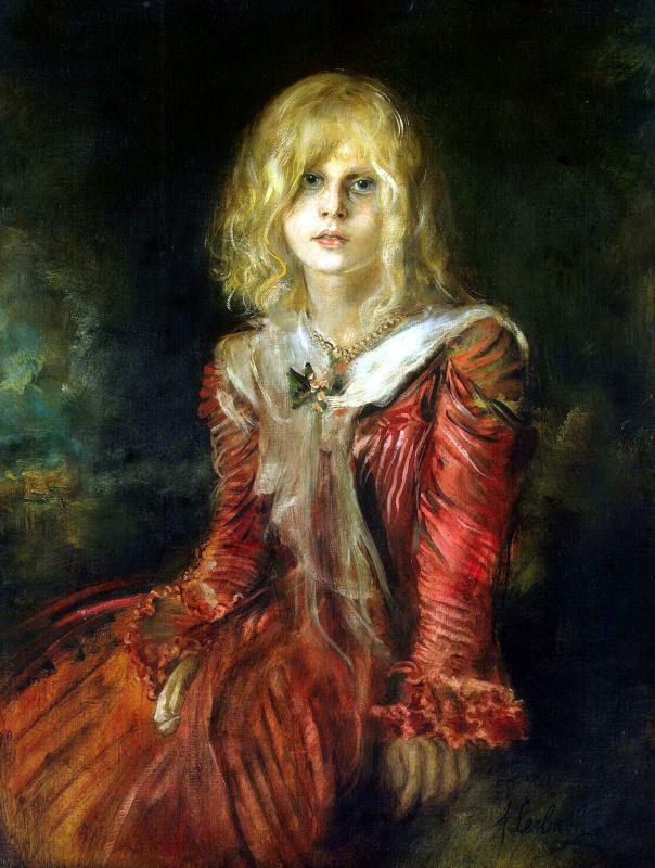 Портрет Марион Ленбах